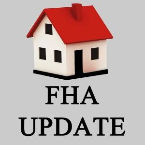FHA Certificate Update